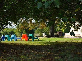 Jardin du gîte La Barthe