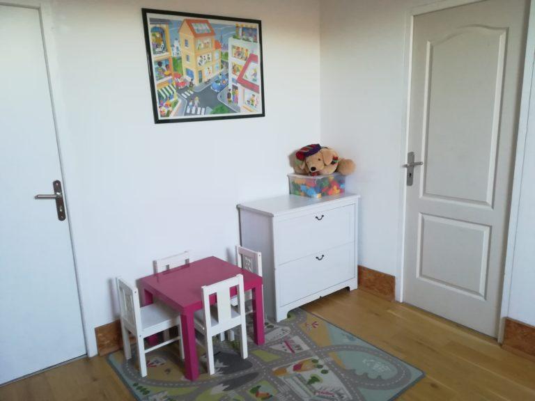 Espace enfant au gîte La Barthe à Plagnole en Haute Garonne